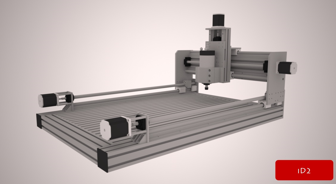 Scratch Build Low Cost Cnc Working Area